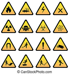 Warnung und Gefahrenzeichen