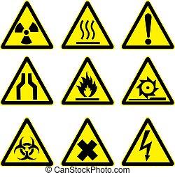 Warnzeichen auf 1