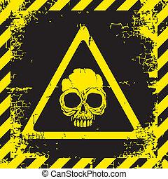 Warnzeichen der Gefahr.