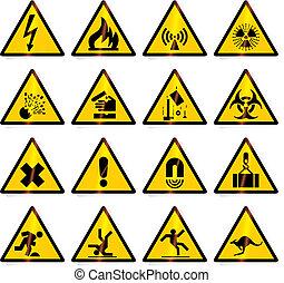 Warnzeichen (Vektor)
