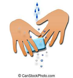 Wasch dir die Hände