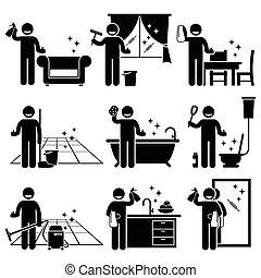 Wasch- und Reinigungshaus