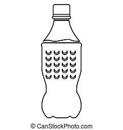 wasser, mineral, flasche