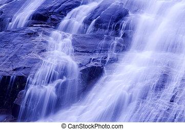 Wasserfälle.