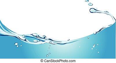 Wasserhintergrund.