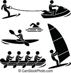 Wasserseesport raft