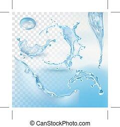Wasserspritzelement.