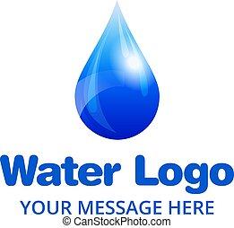 Wassertropfen-Logo.