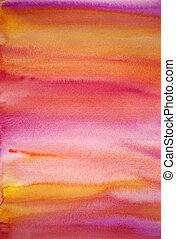 Watercolor multifarbige Hand malte Kunstgeschichte
