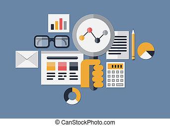 Web-Analytik illustriert