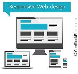 web-design, interessiert