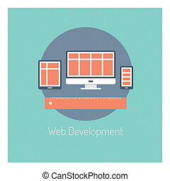 Web-Entwicklungskonzept