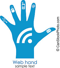 Web Generation Konzept.