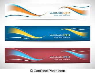 Web-Header oder Banner.