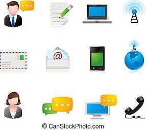 Web-Ikonen - Kommunikation