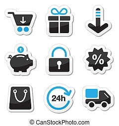 Web / Internet Icons Set - Shopping.