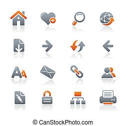 Web Navigation icons / Graphit