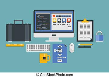 Webprogrammierungsentwicklung