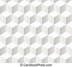 Weiße Proben geometrische Muster.