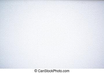 Weiße Wand.