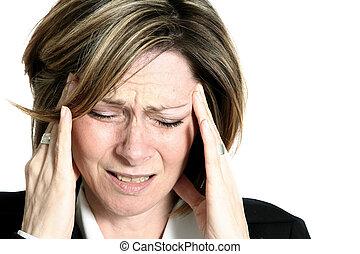 Weibliche Migräne