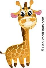 Weiches Spielzeug - kleine Giraffe. Vector
