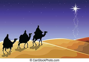 Weihnachten - die drei Weisen
