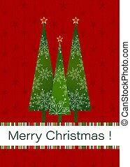 weihnachten, hintergrund, gruß, rotes