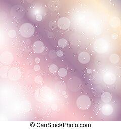 weihnachten, vektor, hintergrund., schoenheit, abstrakt, jahreswechsel, abbildung