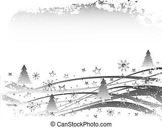 Weihnachten - Winterszene