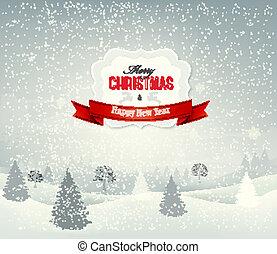 Weihnachts Hintergrund mit W