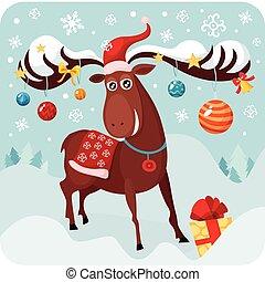 Weihnachts Hirsche