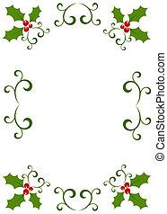 Weihnachts-Holly-Bild