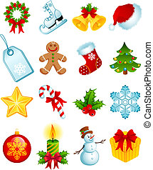 Weihnachts-Ikonen