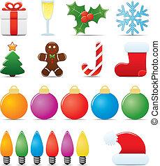 Weihnachts-Ikonen-Set