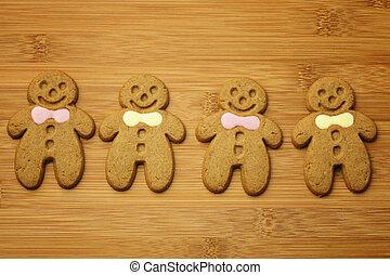 Weihnachts Lebkuchenmänner