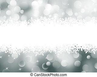 Weihnachts-Strauß-Bokeh-Karte. EPS 8