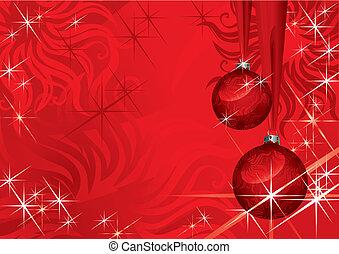 Weihnachtsball (vektor)