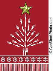 Weihnachtsbaum-Hintergrund.