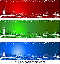 Weihnachtsbaum-Hintergrund