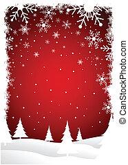 Weihnachtsbaum Hintergrund.