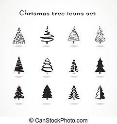 Weihnachtsbaum-Set.