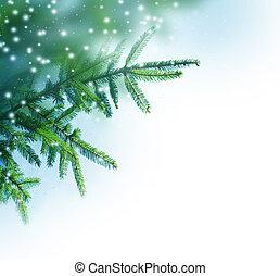 Weihnachtsbaumgrenze