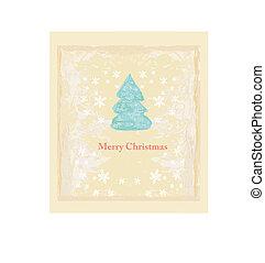 Weihnachtsbaumkarte abbrechen