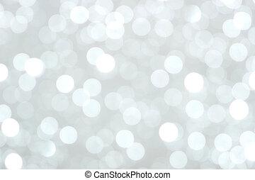 Weihnachtsbeleuchtung im Hintergrund