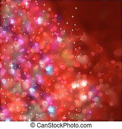 Weihnachtsbeleuchtung. (ohne Transparenz) EPS 8
