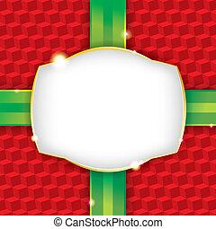 Weihnachtsgeschenk für Papier