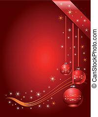 Weihnachtsgeschenk-Seite, Vektor