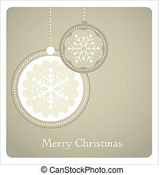 Weihnachtsgeschichte mit Retromuster