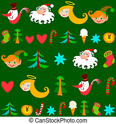 Weihnachtsgeschichte, Vektor
